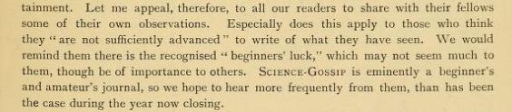 John T. Carrington (Editor 1894-1902), Science-Gossip 1894, v.I